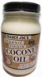Eat coconut oil to lower estrogen