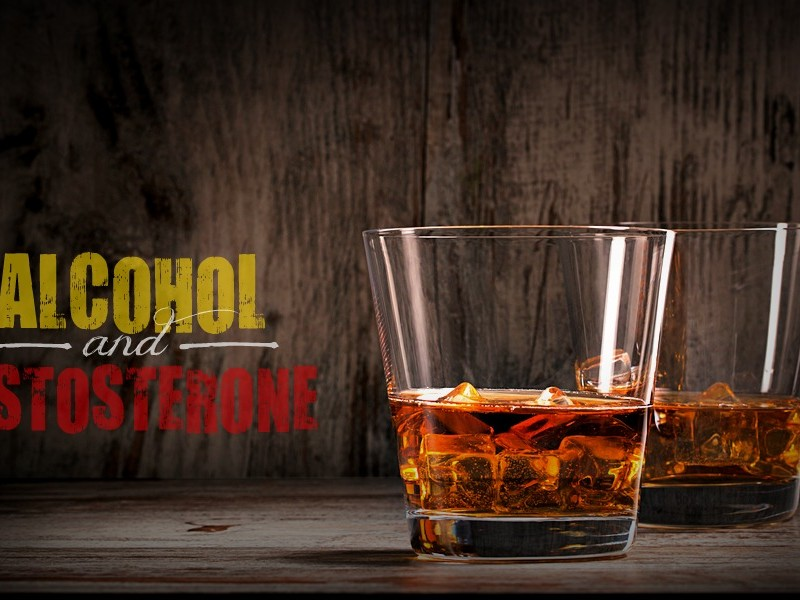 alcohol and testosterone production