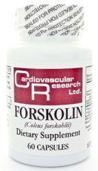 bottle of forskolin extract for thyroid health