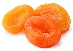 dried apricots are boron rich foods