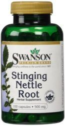 stinging nettle root shbg levels