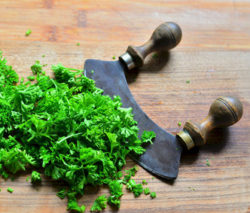 parsley potassium