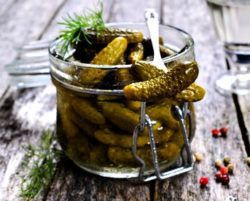 Pickles are rich in probiotics