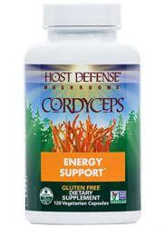 cordyceps supplement bottle