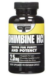 yohimbine for fat loss and erection quality
