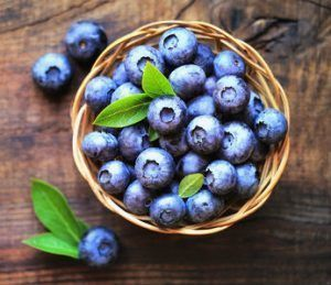 blueberries brain foods