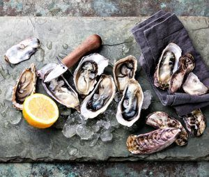 oysters are a testosterone boosting, erection food