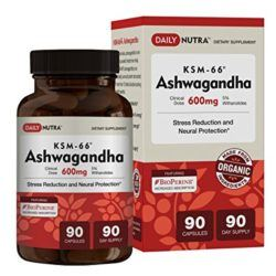 ashwagandha cortisol suppression