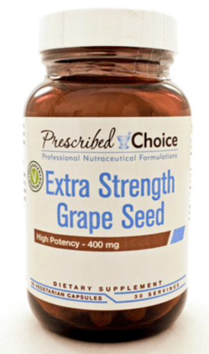 Grape seed extract is an estrogen supplement that is a natural aromatase inhbitor