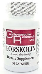 bottle of forskolin extract for thyroid health