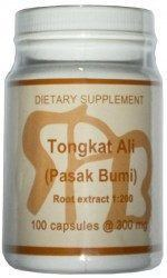 Tongkat ali testosterone supplement