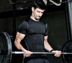 Weight lifting testosterone study shows a 40% increase in resting testosterone.