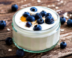 yogurt is a food rich in probiotics