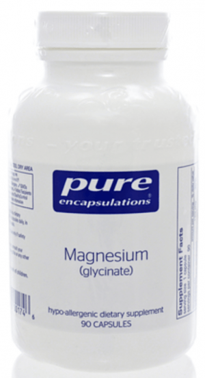 magnesium glycinate shbg lowering supplement