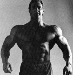 How to build big shoulders naturally.