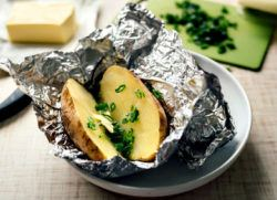baked potatoes are a food that has iodine