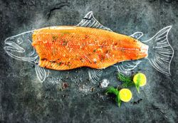 fatty fish is great source of naturally occurring vitamin d