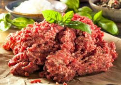 ground beef is food with a lot of vitamin k2