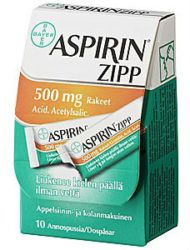 image of aspirin box