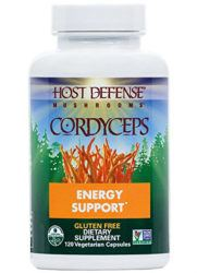 cordyceps supplement bottle